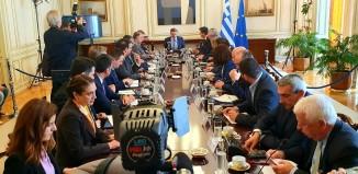 Στη συνάντηση των Περιφερειαρχών με τον Πρωθυπουργό ο Γιώργος Χατζημάρκος