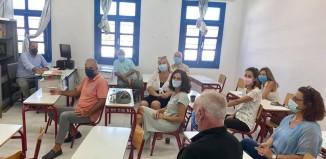 Συνάντηση του Δήμαρχου Μυκόνου με τους διευθυντές των σχολείων