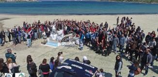 (vid) H αποστολή του Keep Aegean Blue στη Μύκονο