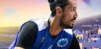Ο Τσιάρας στην ανδρική ομάδα μπάσκετ του Α.Ο. Μυκόνου