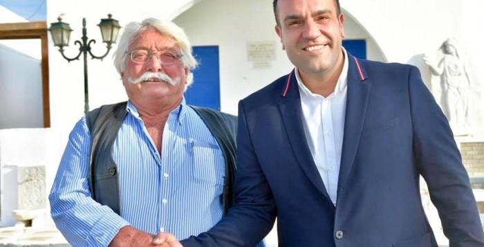 Ο Ιωάννης Ζουγανέλης ανανεώνει την εμπιστοσύνη του στην «Πρωτοβουλία Δράσης»