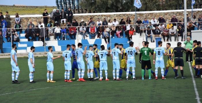 Α.Σ Άνω Μερά: Τελευταία αγωνιστική με τον Α.Ο. Σύρου... πριν το τελικό