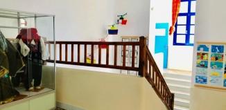 (pics) Ολοκληρώθηκαν οι εργασίες στο 1ο Δημοτικό σχολείο Μυκόνου