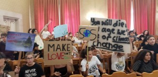 Η ΠΝΑΙ δίπλα στους μαθητές και στην αγωνία τους για τις επιπτώσεις της κλιματικής αλλαγής