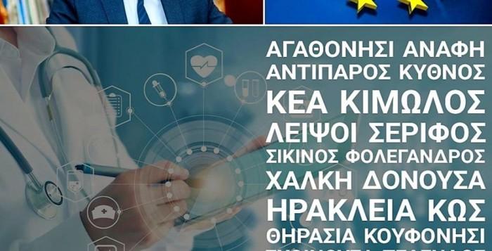 Επέκταση στο δίκτυο τηλεϊατρικής στο Νότιο Αιγαίο