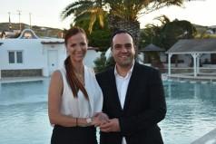 Η Ευαγγελία Γρυπάρη υποψήφια με τον Κωνσταντίνο Κουκά