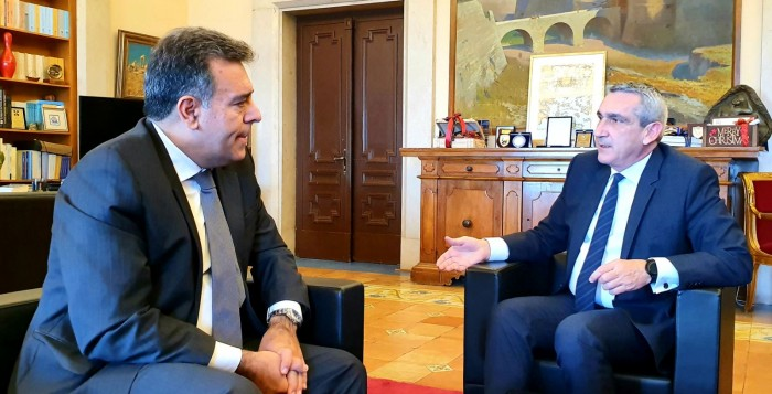 Συνεργασία του Περιφερειάρχη Ν. Αιγαίου Γιώργου Χατζημάρκου με τον Υφυπουργό Τουρισμού Μάνο Κονσόλα