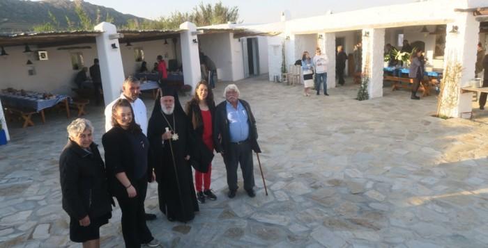 Θεματικό αγροτικό πάρκο στη Μύκονο εγκαινίασε ο Μητροπολίτης Σύρου