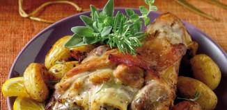 Αρωματικό χοιρινό στο φούρνο με μαρμελάδα κυδώνι και μυρωδικά