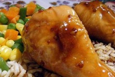 Κοτόπουλο με μέλι