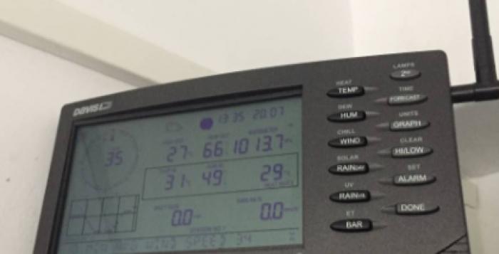 Ολοκληρώθηκε η εγκατάσταση του ασύρματου μετεωρολογικού σταθμού και τριών live stream καμερών στη Μύκονο