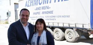 Η Άννα Ασημομύτη στο πλευρό του Κωνσταντίνου Κουκά
