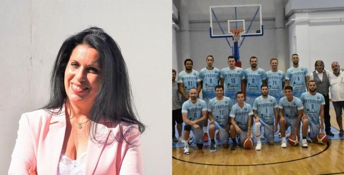 Ελένη Κοντιζά: «Mια νέα εποχή για τον αθλητισμό της Μυκόνου ξεκίνησε»