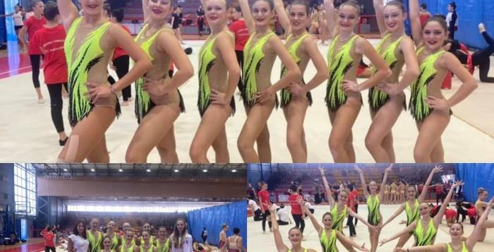 Ανέβηκε στο «βάθρο» η Α.Ε. Μυκόνου στο Πανελλήνιο Πρωτάθλημα Ρυθμικής και Αισθητικής Γυμναστικής