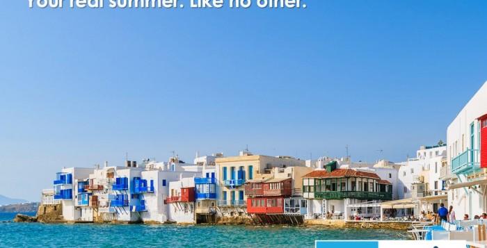Το καλοκαίρι στα νησιά του Αιγαίου, είναι το πραγματικό καλοκαίρι και είναι μοναδικό