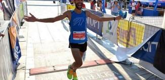 O Αλέξανδρος Μπόλιας τερμάτισε 2ος στον ημιμαραθώνιο του Ευρώτα