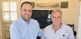 Νέος σύμβουλος της Κοινότητας Μυκονίων ο Παν. Ξενάριος μετά την παραίτηση του..