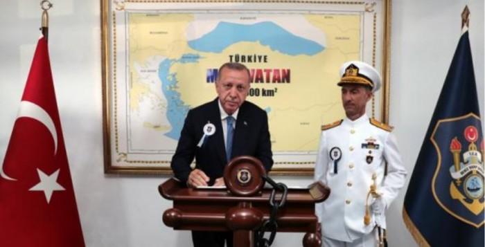 Τουρκία: «Γαλάζια Πατρίδα» έως τη Μύκονο και την Πάρο θέλει σύμβουλος του Ερντογάν