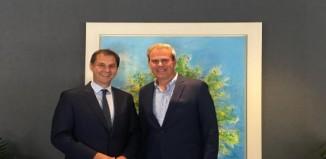 Ανέλαβε ο νέος γενικός γραμματέας του ΕΟΤ κ.Δημήτρης Φραγκάκης