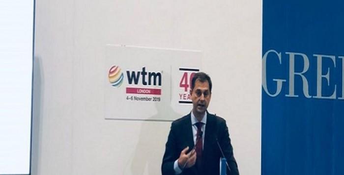 Χ. Θεοχάρης στην WTM «Ο ελληνικός τουρισμός θα κάνει νέα ρεκόρ το 2020»