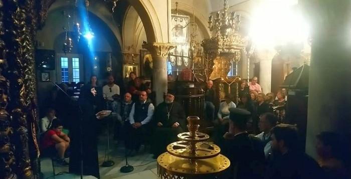 Πλήθος Μυκονιών παρακολούθησε την ομιλία της Ηγουμένης της Ι.Μ. Παναγιάς Χρυσοπηγής Χανίων στην Ι.Μ. Τουρλιανής
