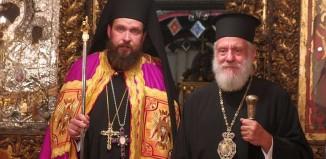 Ενεθρονίσθη ο νέος Ηγούμενος της Εν Άνω Μερά Μυκόνου Ιεράς Μονής Παναγιάς Τουρλιανής