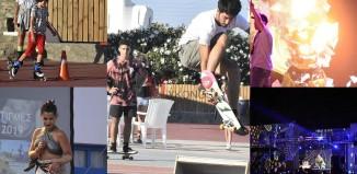 (pics) Με scateboard, rollers και Dj Mapping συνεχίστηκε η 4η μέρα του Mykonos Youth Festival
