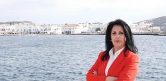 Εντεταλμένη Σύμβουλος Πολιτισμού, Αθλητισμού και Νέας Γενιάς η Ελένη Κοντιζά