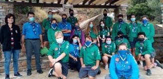 Η Ομάδα Ναυτοπροσκόπων Μυκόνου επισκέφτηκε το νησί της Άνδρου