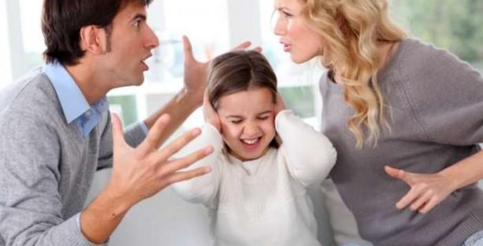 Πόσο επηρεάζουν το παιδί οι καυγάδες των γονιών;