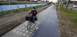 Στην Ολλανδία ο πρώτος ποδηλατόδρομος ηλιακής ενέργειας