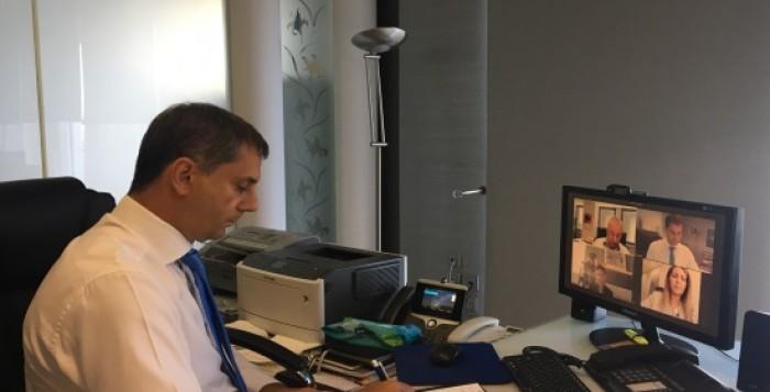 Tηλεδιασκέψεις του Υπουργού Τουρισμού κ. Χάρη Θεοχάρη με φορείς του τουρισμού
