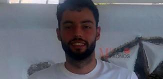 Δημήτρης Στάνκοβιτς: «Με έπεισε το όραμα της διοίκησης να έρθω στον Α.Ο. Μυκόνου»