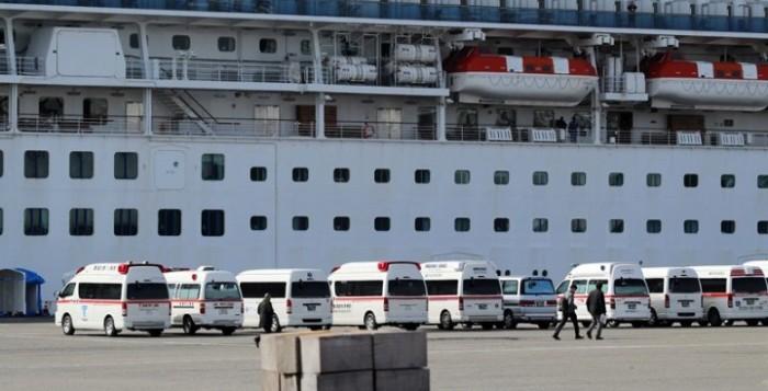 Κρουαζιερόπλοιο Diamond Princess: 61 επιβαίνοντες έχουν προσβληθεί από τον κοροναϊό