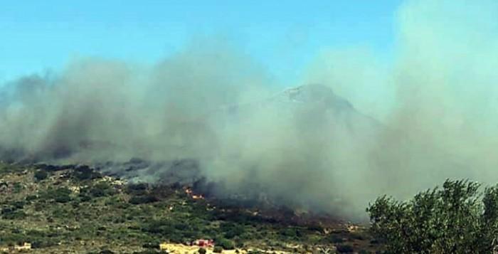 Σε ύφεση η πυρκαγιά στην Ελαφόνησο - 63 πυρκαγιές τις τελευταίες 24 ώρες σε όλη τη χώρα