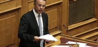 Χρ. Σταϊκούρας: Πρώτη φορά που κυβέρνηση προχωράει σε ολιστική προσέγγιση του ιδιωτικού χρέους της χώρας με κοινωνική ευαισθησία
