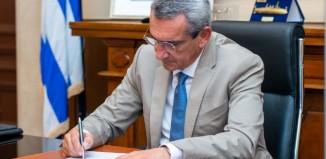 Επιστολή του Περιφερειάρχη, Γιώργου Χατζημάρκου, στον Υπουργό Ναυτιλίας, για την επικείμενη απεργία της ΠΝΟ