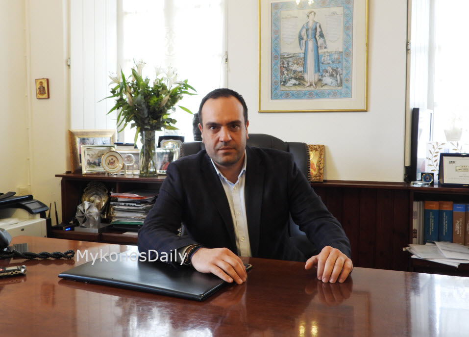 Δήμαρχος Μυκόνου: «Πάντα άξια και δημιουργική Ντίνα, καλή επιτυχία Ελένη και Μίλτο»