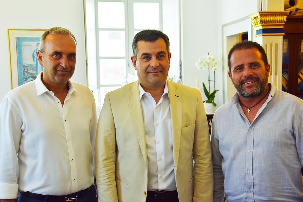 Επίσκεψη του Πρέσβη της Γεωργίας στη Μύκονο