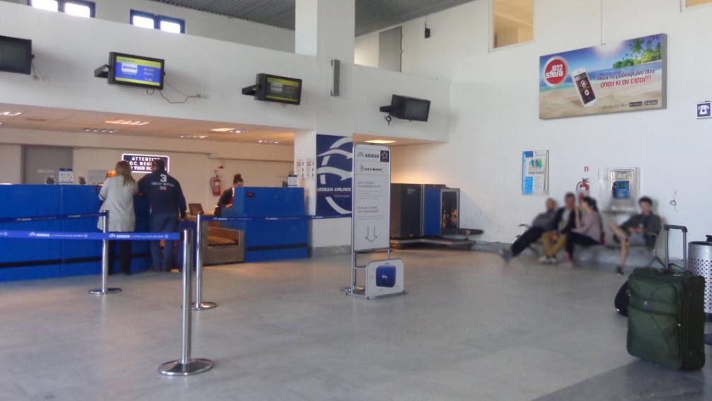 Δύο συλλήψεις στο αεροδρόμιο της Μυκόνου