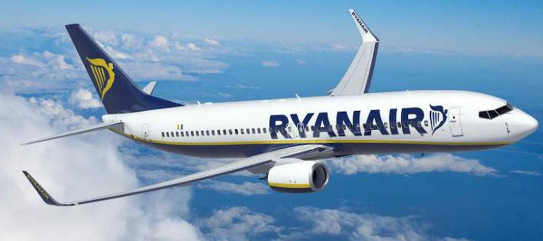 100.000 θέσεις των 5 ευρώ από την Ryanair