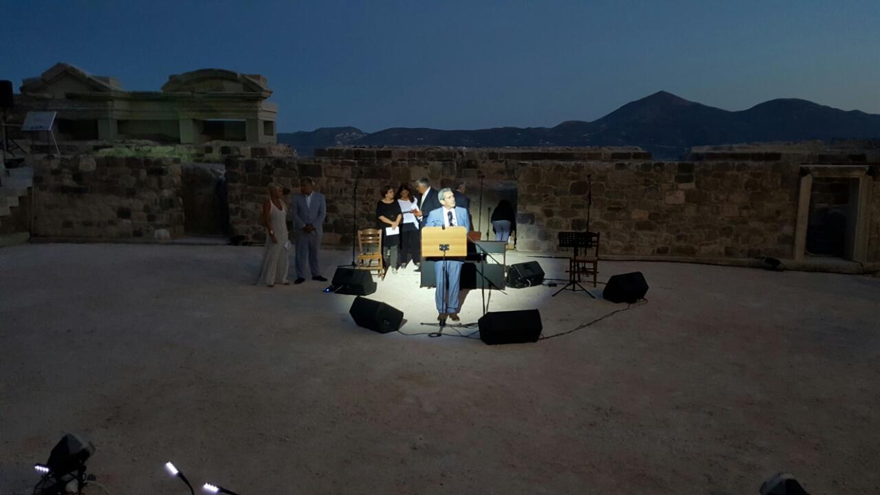 Ανακαινίστηκε το αρχαίο θέατρο της Μήλου
