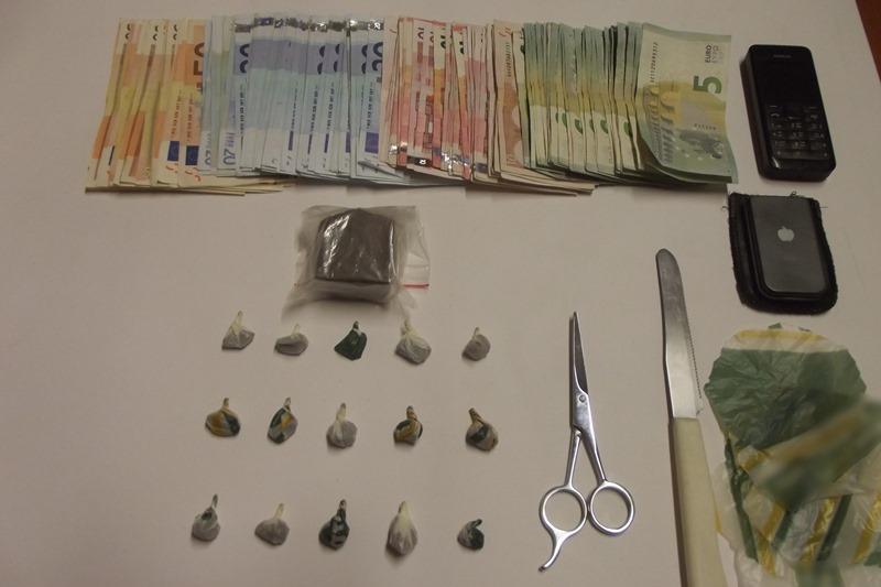 Συνελήφθη 23χρονος ημεδαπός για διακίνηση ναρκωτικών στη Ρόδο