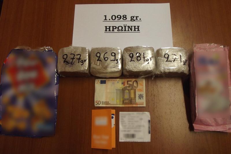 Συνελήφθη 66χρονος ημεδαπός για κατοχή ναρκωτικών