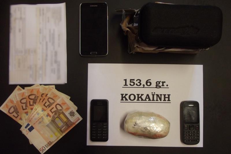 Συνέληφθη 32χρονος Αλβανός για διακίνηση ναρκωτικών