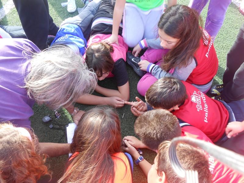 Τα kids athletics  στην Κύθνο