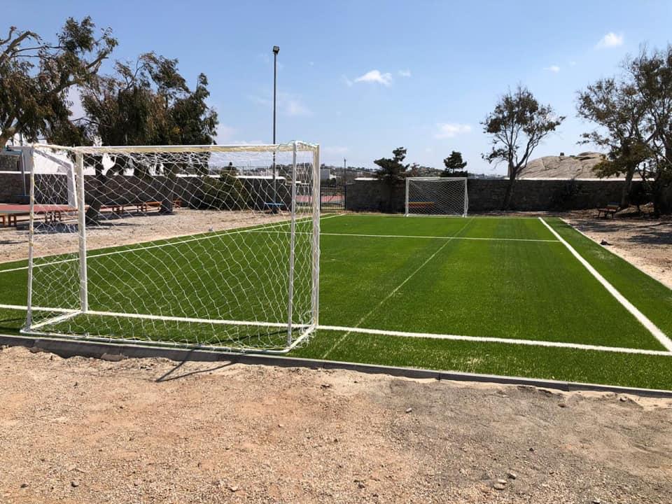 Παιδεία και Αθλητισμός πάνε μαζί για την Δημοτική Αρχή | Νέο γήπεδο 5x5 στον Πετεινάρο