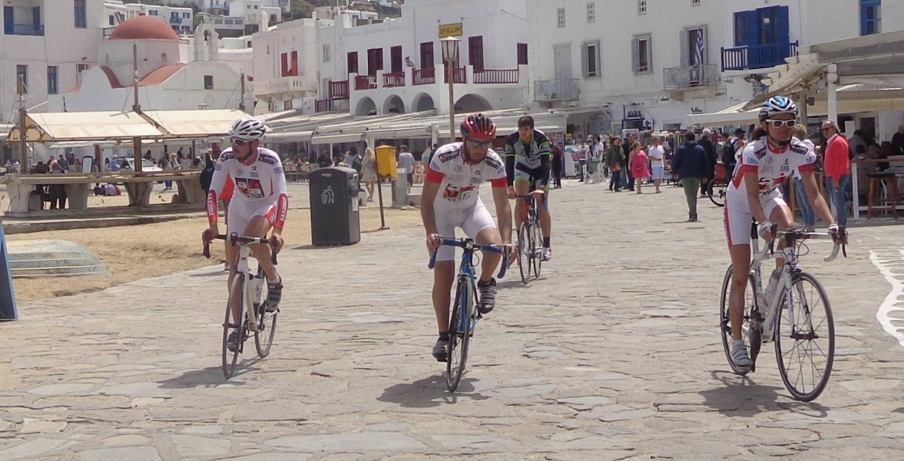 Φωτογραφικό ρεπορτάζ από το διήμερο ποδηλατοδρομίας σε χώρα και Άνω Μερά