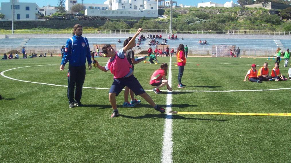 Τα kids athletics στη Μήλο
