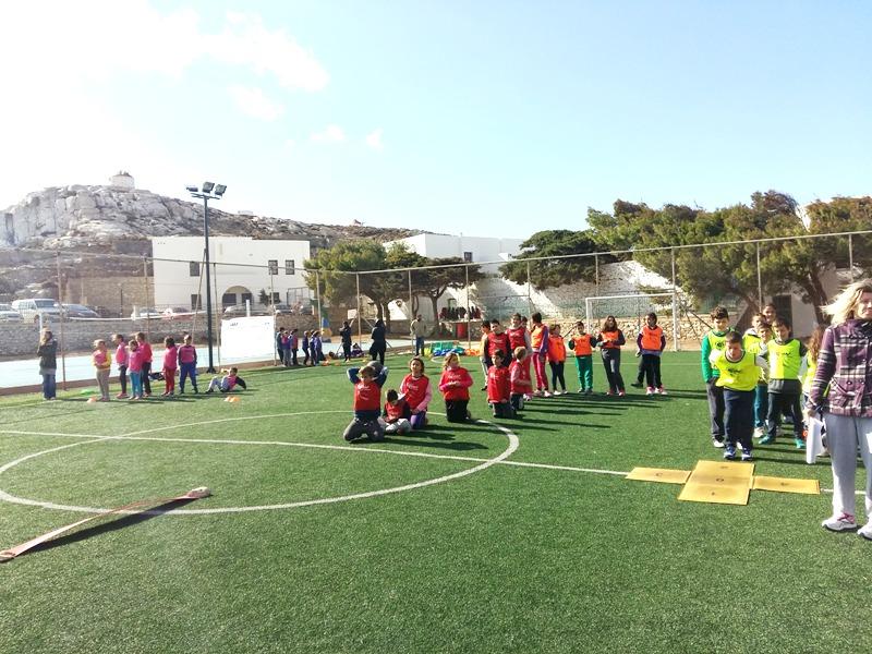 Τα kids athletics πέρασαν και από την Αμοργό